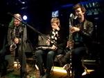 L. Anker, S. Kjaergaard, A. Banke, Q. Wikstroem (DK) - Live at MS Stubnitz