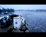 MS Stubnitz entering the port of Rostock // 2011-03-04 - Video