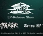Eruption of Corruption - Record Release Party