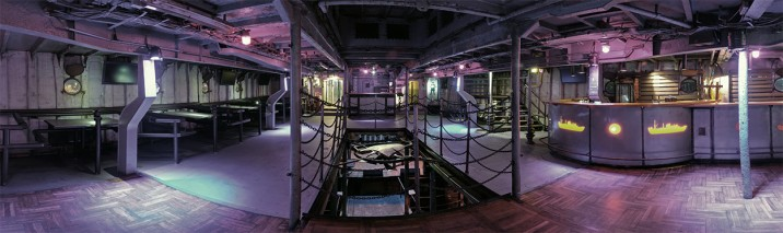 The Factory: 1775sq ft; 200 capacity